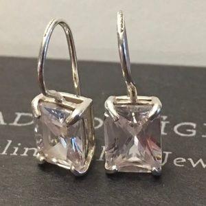 RARE Silpada HTF W0353 Cubic Zirconia Earrings